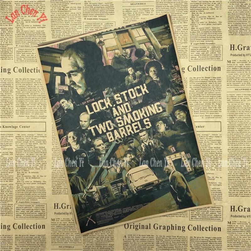Dionice i dvije bare za pušenje Kraft Paper Poster Cafe Kreativne - Kućni dekor - Foto 6