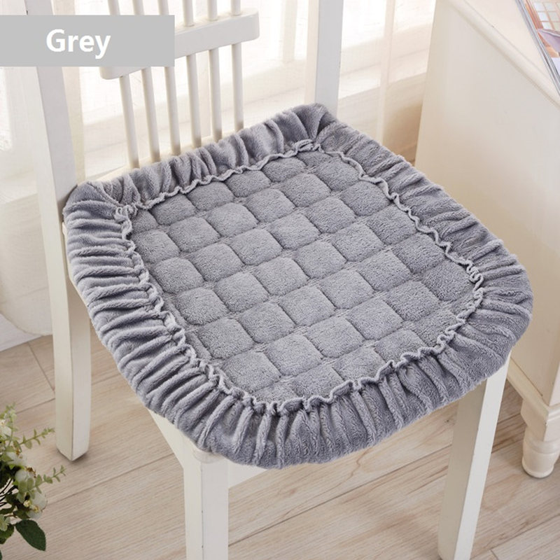 Us 6 7 33 Off U Shaped Chair Cushion Comfortable Office Chair Seat Cushion Home Decoration Flannel Sofa Seat Cushion Buttock Sitting Pad In Cushion