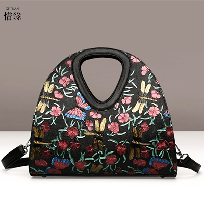 XIYUAN BRAND 2017 New Luxury Handbags Women's Bags Designer High Quality Pu Leather Shoulder Bag Crossbody Bag Messenger Bags xiyuan brand ladies beautiful and high grade imports pu leather national floral embroidery shoulder crossbody bags for women