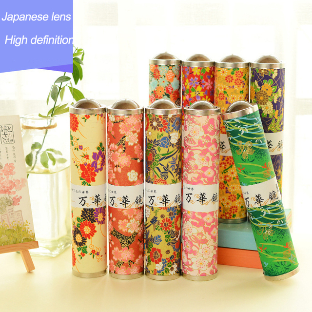 new creative stationery japanese imports of paper cherry blossom kaleidoscope the best christmas gifts for children