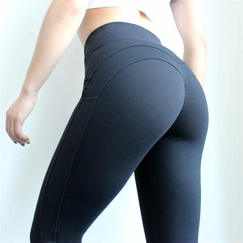 21508ebd4824b ... DANENJOY Women's Booty Leggings For Fitness Leggins Sport Women  Sportswear Tights Woman Gym High Waist Yoga ...