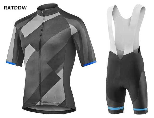 RATDDW Men s Cycling Clothing and bib shorts Kits Ropa Ciclismo Cycling  Jersey Cycle Jersey Quick Dry Bike Clothes 3615acae1