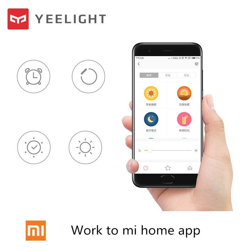 Xiaomi Yeelight Led plafond Pro 650mm RGB 50W travail à mi maison app et google maison et pour amazon Echo pour xiaomi kits de maison intelligente - 4
