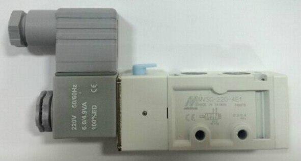 New MINDMAN Solenoid Valve MVSC-220-4E1 MVSC2204E1 coil AC220V new mindman solenoid valve mvsd 180 4e1 mvsd1804e1 coil ac220v