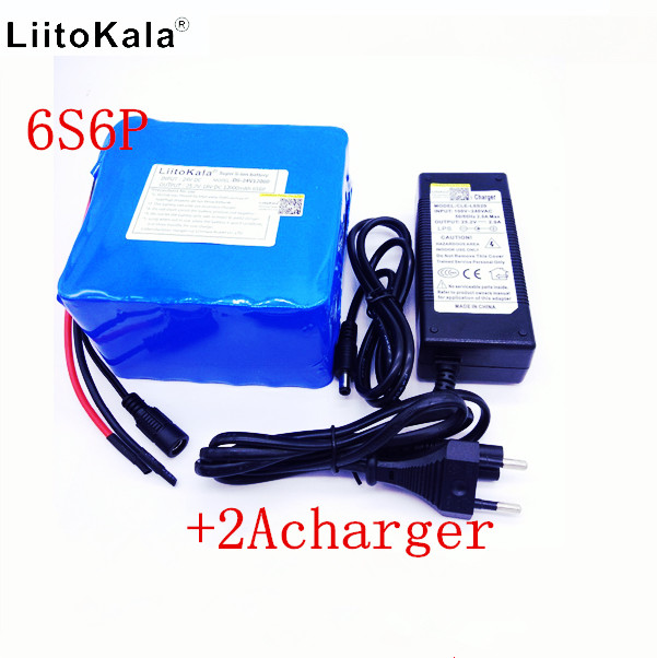 LiitoKala 24v 12ah lithium battery 25.2V 12ah lithium ion battery for 350w bike and 250w motor wit bike battery pack 24v 12ah lithium battery pack 25 2v 12000mah battery li ion for bicycle battery pack 350w e bike 250w motor wit