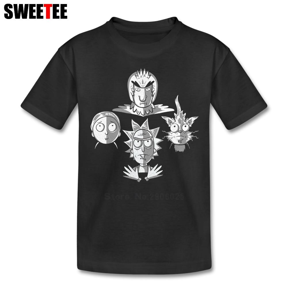Bohemian Ricksody childrens T Shirt 100% Cotton Short Sleeve O Neck Tshirt Tees Boys Girls 2018 Personalized T-shirt For Kids