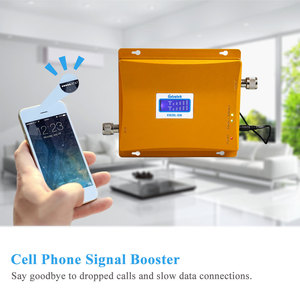 Image 5 - Powerful LCD 3G GSM Cellular Signal Booster Repeater 900MHz 2100MHz UMTS Mobile Cell Phone 3G Amplifier Kit Two Indoor Antenna @