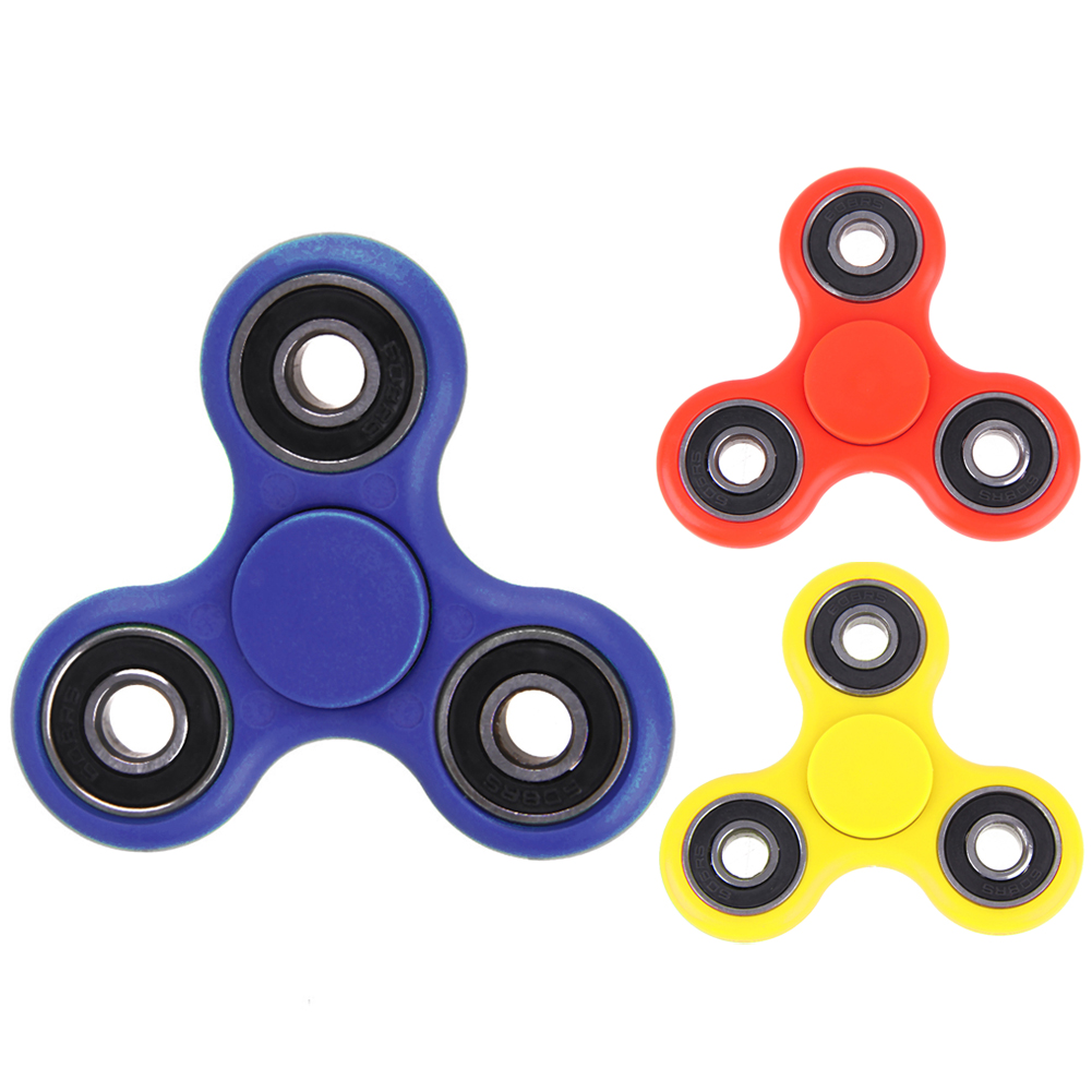Spinner Desk Focus Fingertip Gyro Toy Anti Stress Relief Finger Spinners Edc Sensory Gift For Children Kids Fidget Spinner