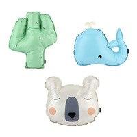 100 Brand New Baby Toy Kids Cute Sofa Cushion Amazing PU Pear Whale Cactus Bear Shape