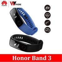 Huawe Honor Band 3 Smart Band Real time Heart Rate Monitoring Tracker for Android iOS 50 meters Waterproof for Swimming Fitness