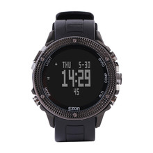 Luxury men watch with logo EZON mountaineering compass Digital Wristwatches waterproof watches Sport Watches