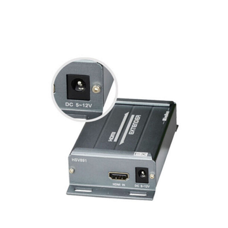 Image 5 - HDMI Extender over TCP/IP with Audio Extractor work like HDMI splitter support 1080p HDMI extender via Rj45 150M-in Computer Cables & Connectors from Computer & Office