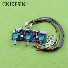 CNIKESIN diy 2 1 channel pre board subwoofer low pass filter board preamp board s first