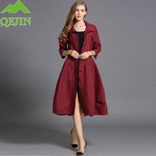 Women trench coat Autumn lady fashion Dust coat