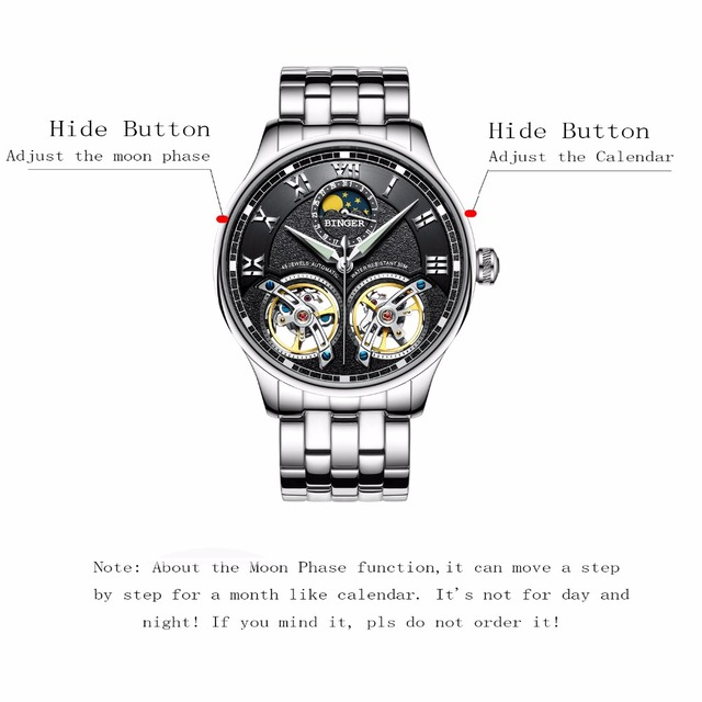 Swiss Brand Automatic Mechanical Wrist Watch 2