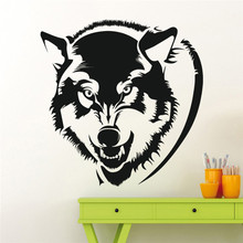 Wildlife Series Wolf Head Silhouette Special Wall Stickers Home Livingroom Cool Decorative Vinyl Interior Wallpaper