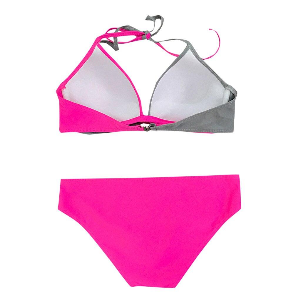 HTB1huEKVVzqK1RjSZFvq6AB7VXaq 7 Colors Womens Padded Push-up Bra Tankini Bikini Set 2019 Swimsuit Low Waist Bathing Suit Swimwear Two Pieces Halter Beachwear