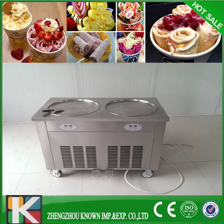 2016 factory hot sale professional thailand ice cream rolls fried machine2016 factory hot sale professional thailand ice cream rolls fried machine