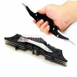 Открытый Бэтмен два двойной карманный затененный Складной нож инструмент Темный рыцарь