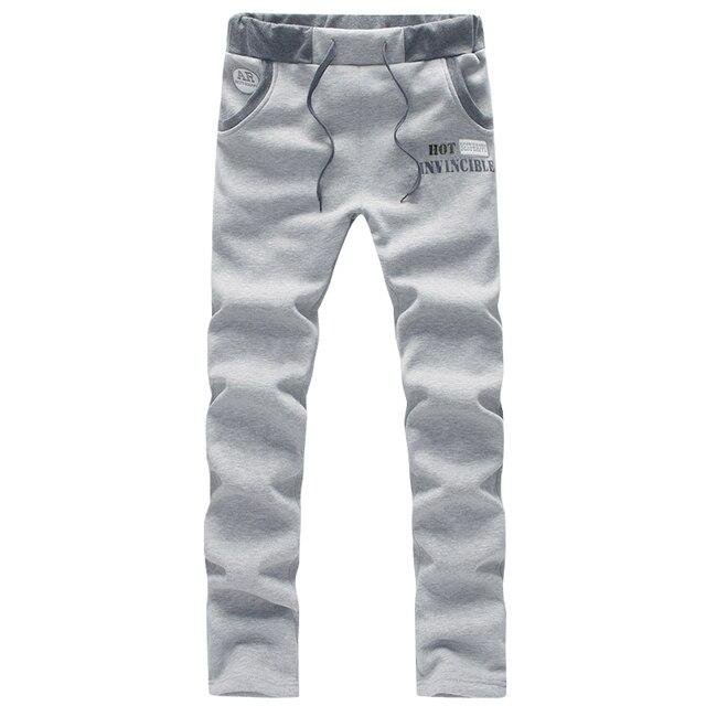 Hot 2015 autumn men casual  pant  sweatpants  pantalones hombre 5 colors M-4XL 5XL CK110