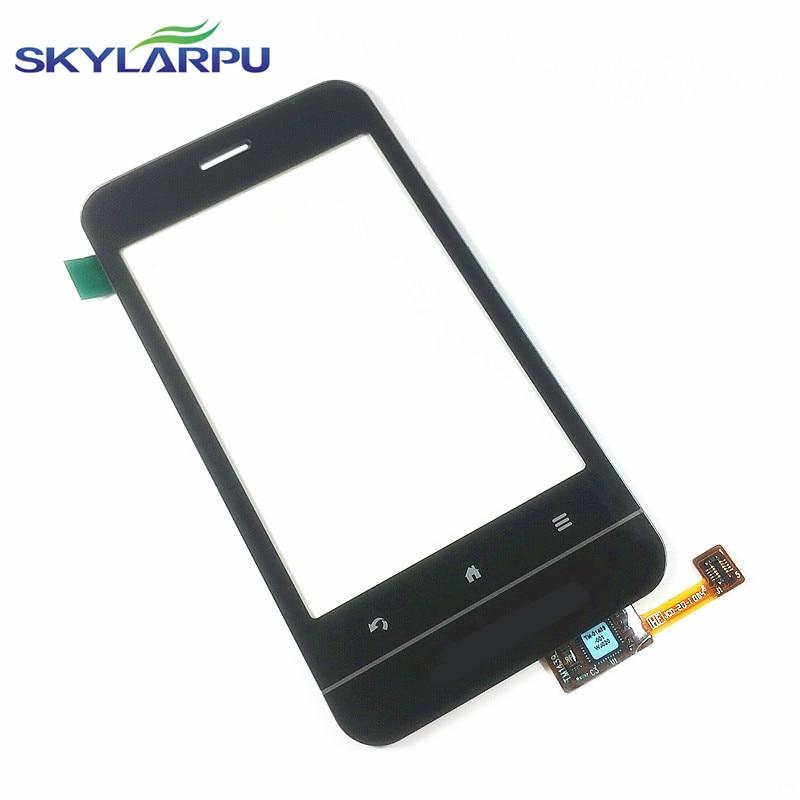 skylarpu touch screen For Garmin A10 digitizer lens sensor glass panel (with logo) Free shipping