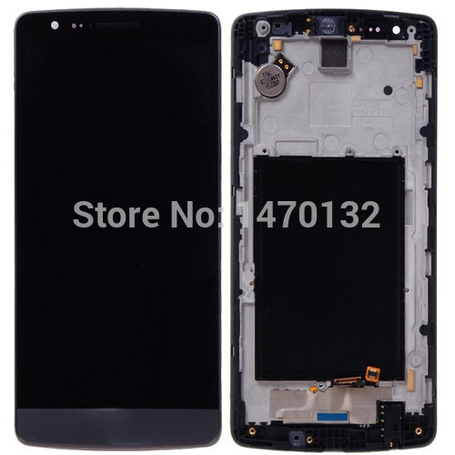 ФОТО LCD display Touch Screen Digitizer Assembly For LG G3 mini D722 D722K D722V D724 D725 D728 + Frame (Black)