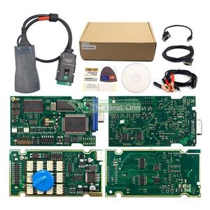 Image 5 - Dourado completo chips lexia 3 921815c nova diagbox v9.68 v7.83 lexia3 pp2000 v48/v25 Lexia 3 para citroen/peugeot ferramenta de diagnóstico do carro