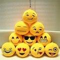 Emoji pequena emoticon pelúcia chaveiro de pelúcia brinquedos e Hobbies & cadeia de telefone