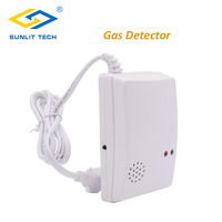 Wireless Combustible Gas Sensor House Kitchen Fire Gas Detector Detects LPG LNG Leakage For GSM PSTN