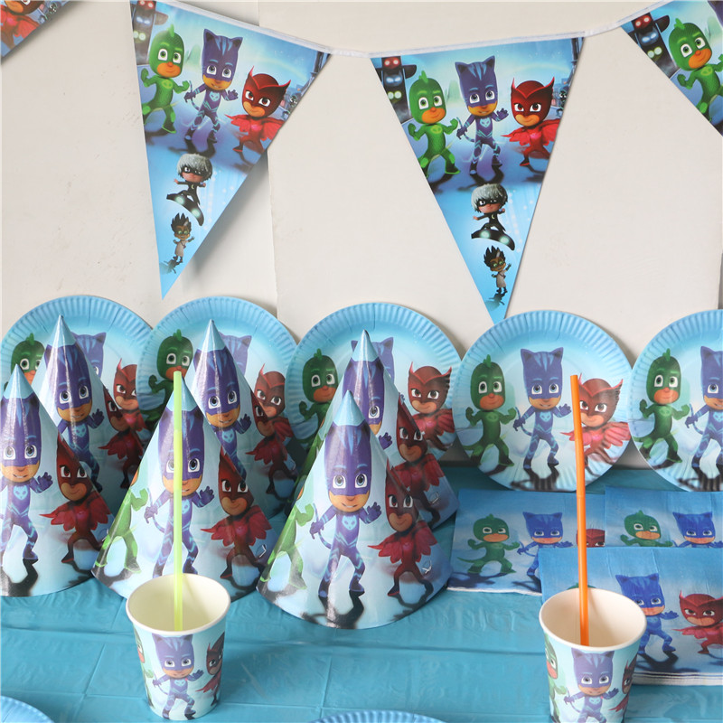 Online Get Cheap Birthday Party Decorations Plates Kit Aliexpress