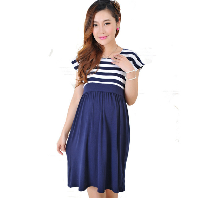 Summer Fashion Maternity Dresses Clothes For Pregnant Women Clothing ...