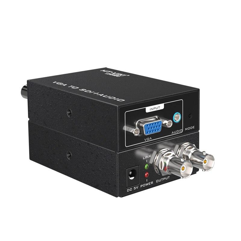 MT VIKI VGA to SDI Video Audio Converter Adaptor Splitter 3G HD MT VS12