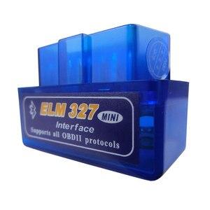 Image 5 - السوبر ميني Elm327 بلوتوث OBD2 V2.1 Elm 327 V 1.5 OBD 2 سيارة التشخيص أداة ماسحة Elm 327 OBDII محول السيارات التشخيص أداة