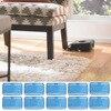 Behogar 10 PCS Reusable Wet Microfiber Cleaning Mopping Cloths For IRobot I Robot Braava 308t 380