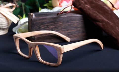 high quality handmade wood frame glasses eye prescription men glasses women eyeglasses 2014