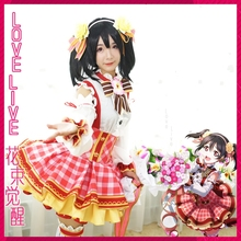 LoveLive! Yazawa Nico Bouquet Flower Awaken Cosplay Costume Girls Lolita Dress Halloween Party Costumes for Women Anime Costumes все цены