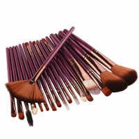 Pro 18 Pcs Makeup Brushes Set Foundation Contour Powder Eye Shadow Eyeliner Lip Blending Brushes Cosmetic Beauty Make Up Tools