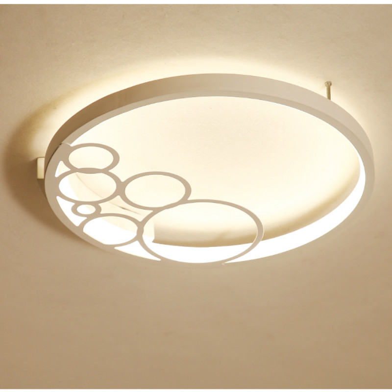 Modern minimalist led round ceiling lamp warm romantic dining hall lamp  personality study lamp bedroom ceiling lamp AP8101100 Ceiling Lights     - title=