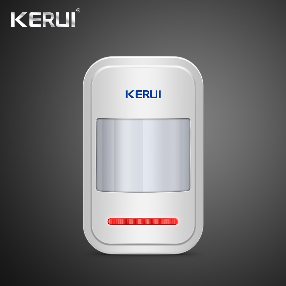 Kerui W18 Wireless Wifi GSM Alarm Systems Security IOS APP  GSM SMS Burglar Alarm System Motion Sensor Russian Warehouse 3