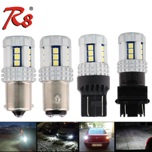 2x P21W LED Car BA15S LED Auto 12V 24V 1156 P21/5W bay15d T20 7443 w21/5w Signal LED Light Bulbs For DRL Tail Back Up Stop Lamps