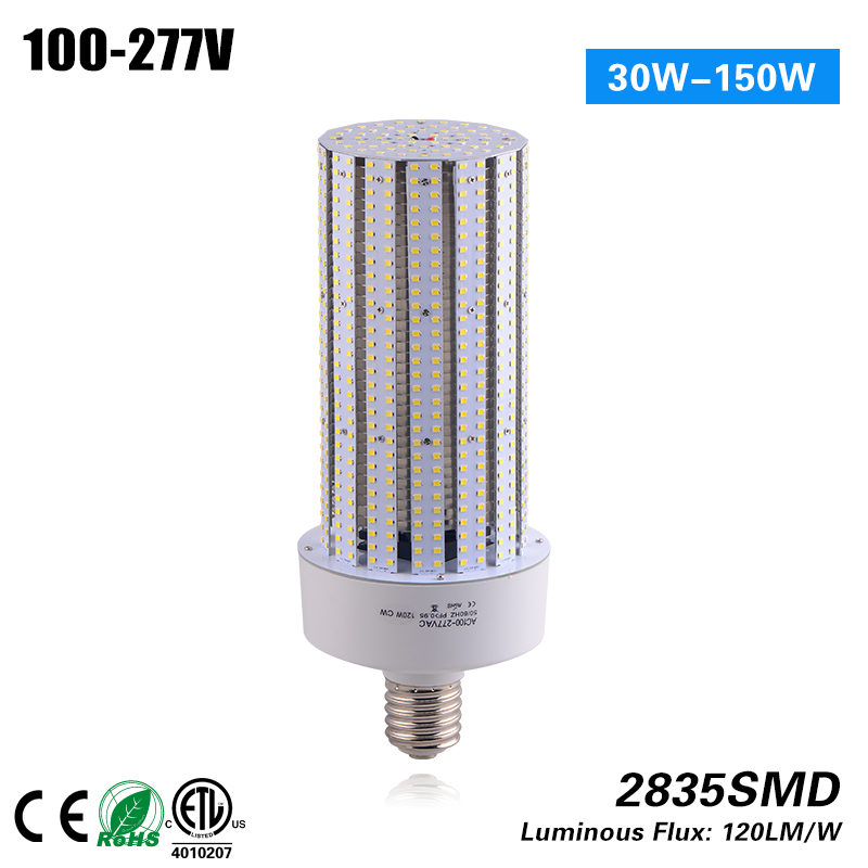 3 years warranty E40/E27 120W led Corn Light with fan 100-277VAC CE RoHS ETL p10 real estate project hd clear led message board 2 years warranty
