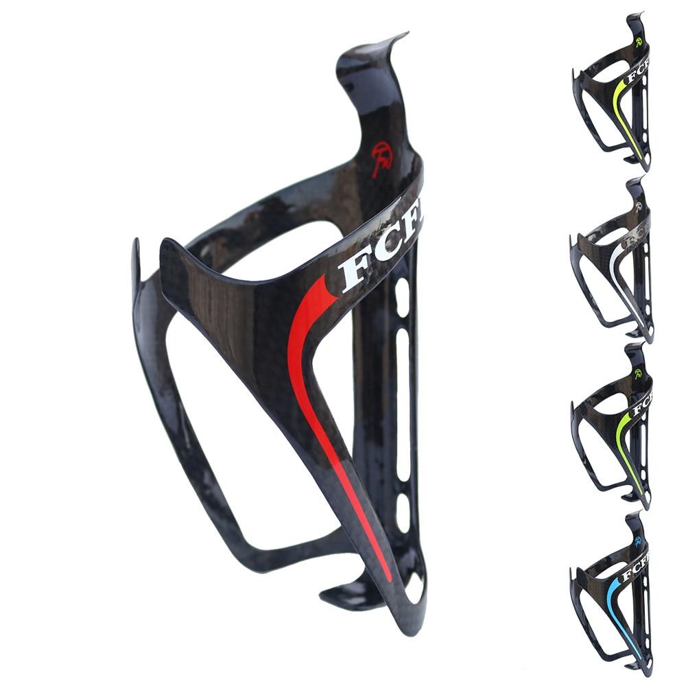 Oferta especial FCFB FW Portabidón Jaula de carbono portabidón bicicleta bicicleta 1pcs Jaula Astilla envío gratis