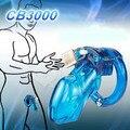 CB3000 plástico médico do sexo masculino dispositivo de castidade caralho gaiola com bloqueio gaiolas pica gaiola penis escravidão castidade sex toys para homens