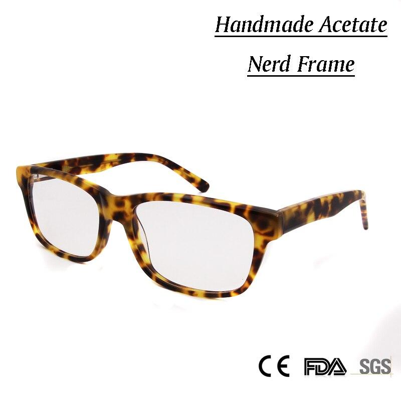 ჱSorbern diseño ojo Gafas cuadrado nerd Gafas mujeres hombres ...