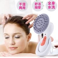Rechargeable Waterproof Electric Head Massage Health Equipment Massage Comb