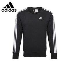 Новое поступление Adidas Performance ESS 3S CREW B Для мужчин с капюшоном(худи) и рубашки с коротким рукавом спортивный костюм