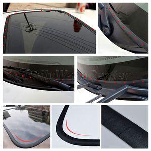 Image 3 - 5 מטר עמיד למים גומי איטום רצועות לקצץ עבור אוטומטי רכב שמשה קדמית אחורית גגון משולש חלון קצה Weatherstrip