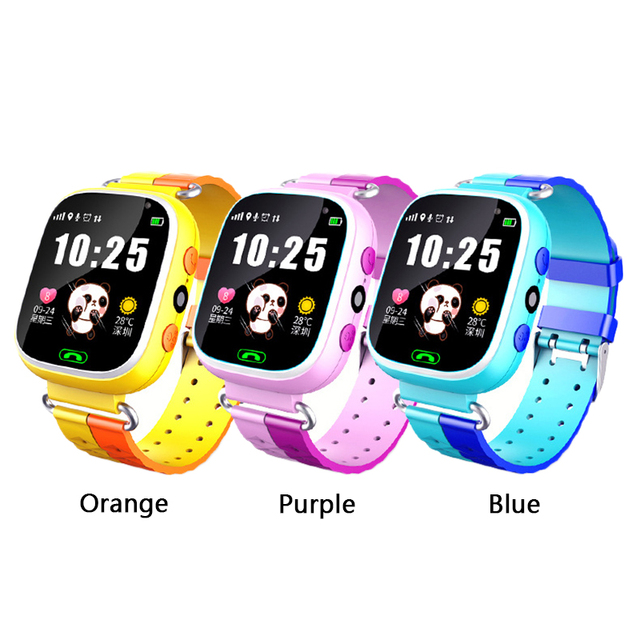 Camera Touch Screen SOS Call Anti-Lost Watch Baby Smart Watch GPS Locator Tracke