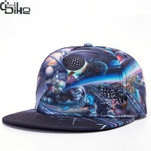 Cool 3D Printing Snapback Caps For Men Women Baseball Caps Unisex Hip Hop Hat Casual Men's cap  Skateboard Cap Women's hats