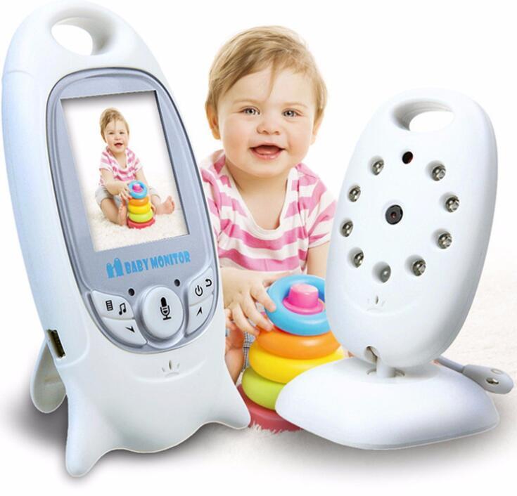 Bezprzewodowa elektroniczna niania Night Vision dwukierunkowy Radio aparat dla dzieci elektroniki monitorowania temperatury Mini Babe kamery w Nianie elektroniczne od Bezpieczeństwo i ochrona na AliExpress - 11.11_Double 11Singles' Day 1